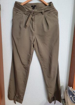Штаны брюки слоучи  котон