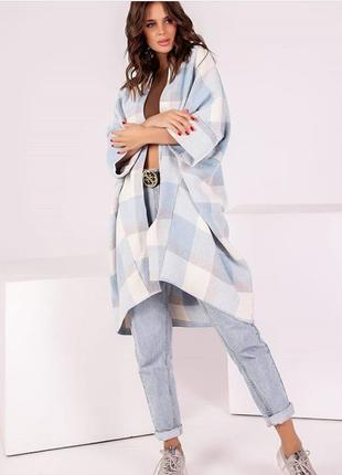 Шикарный стиляжный кардиган (кейп, лёгкое пальто) в свободном стиле оверсайз 😍