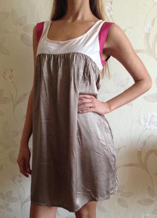 Шелковое платье axara