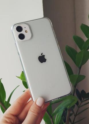 Прозрачный силиконовый чехол на iphone 5/6/7/8/7plus/x/xs max/11/11 pro/11 pro max