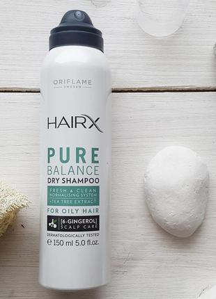 Сухий шампунь для жирного волосся «експерт-баланс»
