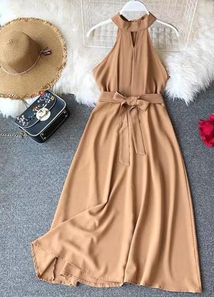 Платье с пояском😍