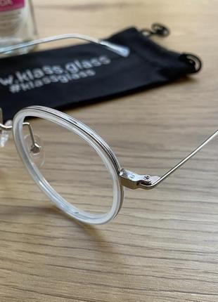 Оправа в стиле gucci, стильная оправа, круглые очки {новые}