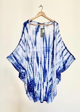 Пляжна надкидка / пляжне плаття туніка / пляжное платье пляжная туника