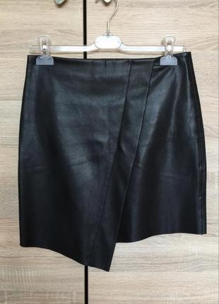 Сексуальная кожаная юбка zara