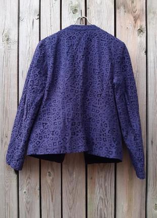 Ажурный пиджак жакет kaliko2 фото