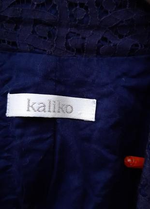 Ажурный пиджак жакет kaliko3 фото