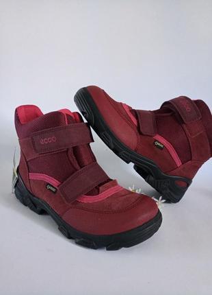Оригинальные ботинки ecco snowboarder, gore-tex мембрана, 36p