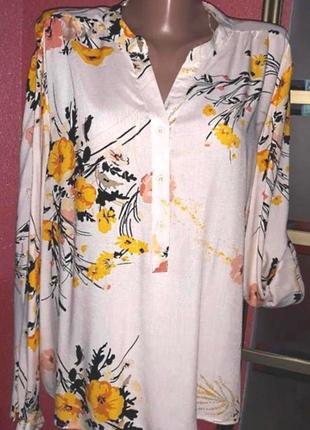 Блузка рубашка от b.young на размер 50-52/xl-xxl