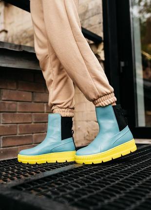 Puma by rihanna chelsea sneaker boot женские кроссовки наложенный платёж купить9 фото