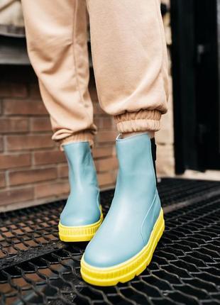 Puma by rihanna chelsea sneaker boot женские кроссовки наложенный платёж купить4 фото