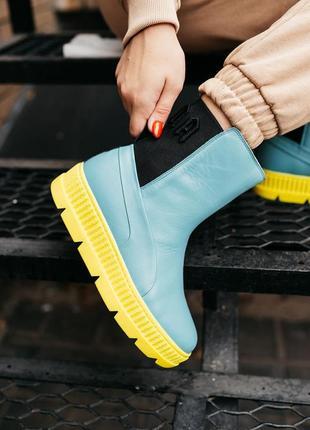 Puma by rihanna chelsea sneaker boot женские кроссовки наложенный платёж купить