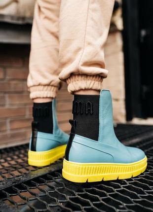 Puma by rihanna chelsea sneaker boot женские кроссовки наложенный платёж купить6 фото