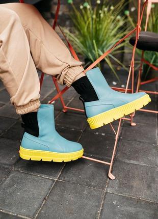 Puma by rihanna chelsea sneaker boot женские кроссовки наложенный платёж купить7 фото
