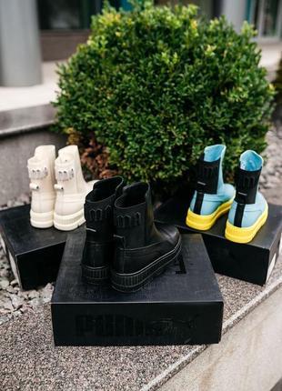 Puma by rihanna chelsea sneaker boot женские кроссовки наложенный платёж купить3 фото
