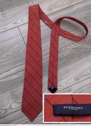 Фирменный галстук шелк+шерсть италия