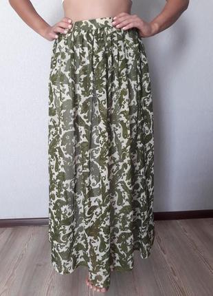 Шовкова спідниця/шелковая юбка