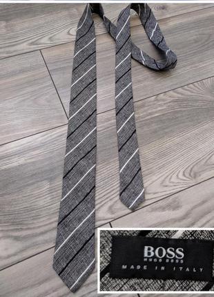 Фирменный галстук италия шелк