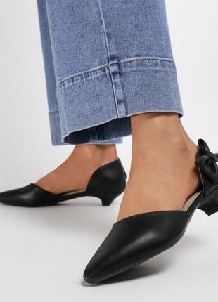 Туфли, туфли с острым носком, чёрные туфли с острым носком