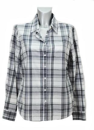 Женская  рубашка в клетку  yessica. код 2431
