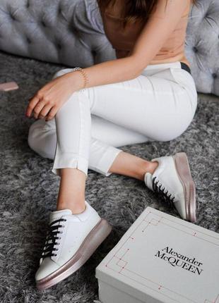 Кроссовки женские осенние alexander mcqueen черные