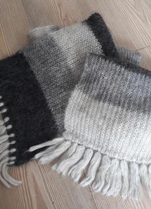 Шерстяний шарф/шерстяной шарф