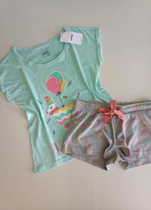 Класний комплект пижама от бренда sinsay с