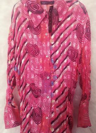 Дизайнерская рубашка violet st claire