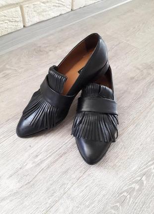 Туфлі,лофери mango