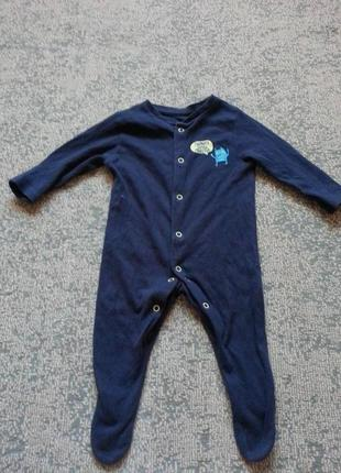 Человечек на мальчика 0-3 месяца