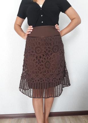 Мереживна спідниця/кружевная юбка