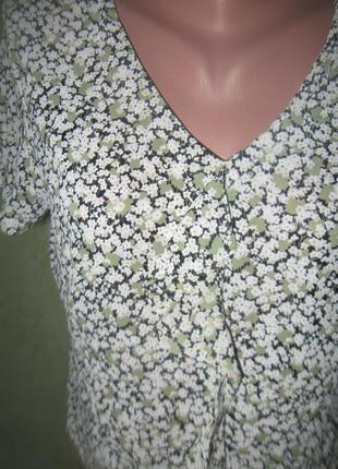 Блузка в цветочный принт4