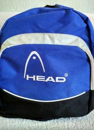 Рюкзак  большой синий текстиль head
