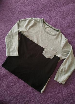 Красивая актуальная модная легкая кофта с рукавом  приятная к телу от h&m basic