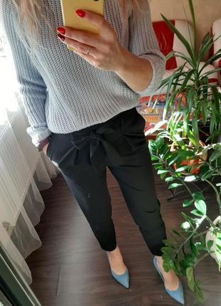Брюки /штаны  укороченные, с завышенной талией / в офис , новые с биркой only р xs ,s