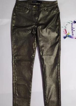 Штаны, брюки, бронзовый цвет