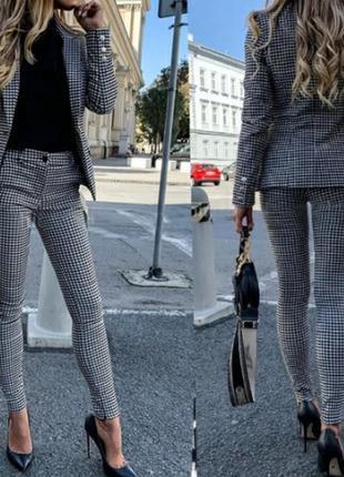 """Женский костюм с брюками """"marsel""""  батал  норма"""