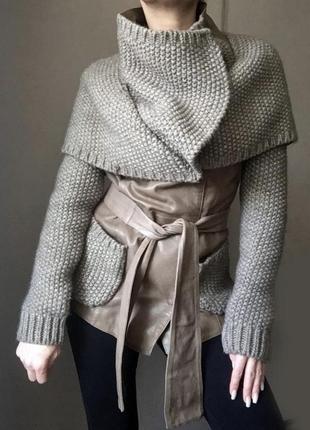 Кожаная куртка punto италия