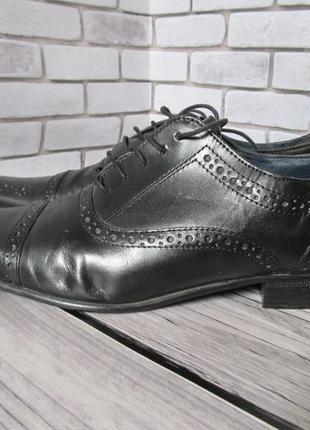 Кожаные туфли броги next