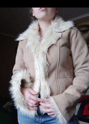 Крутая куртка / дубленка