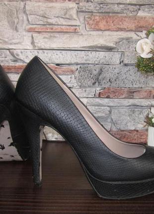 Туфли next на высоком каблуке
