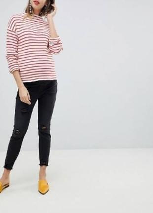 Ультракомфортные джинсыдля беременных  джеггинсы new look maternity