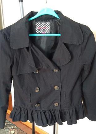 Котонова куртка жіноча 40 р