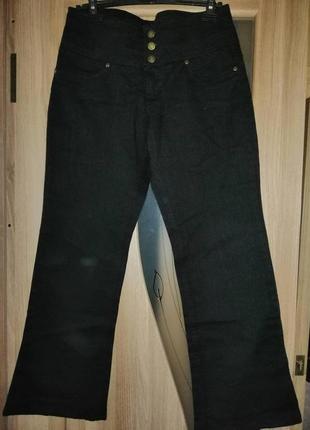 Новые джинсы черные bonprix john baner