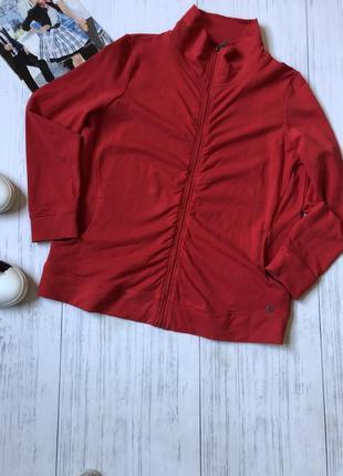 Спортивная кофта свитшот на молнии олимпийка котон bonita