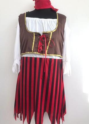 Пиратка 48-52 костюм карнавальный