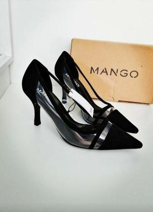 Стильные нарядные туфли mango