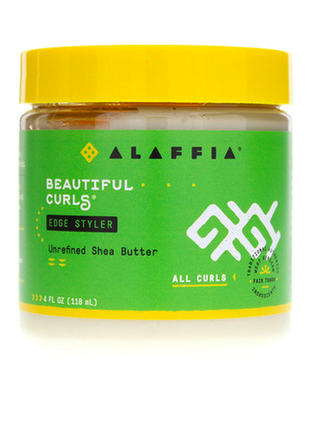 Крем для кудрей alaffia, beautiful curls, edge styler