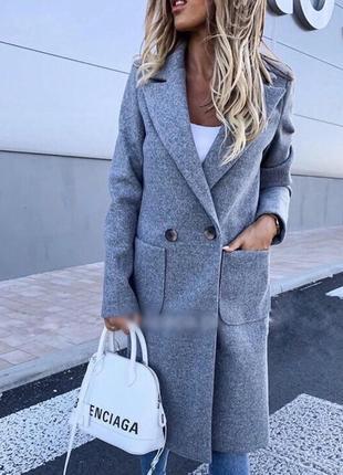 Пальто кашемировое отличного качества