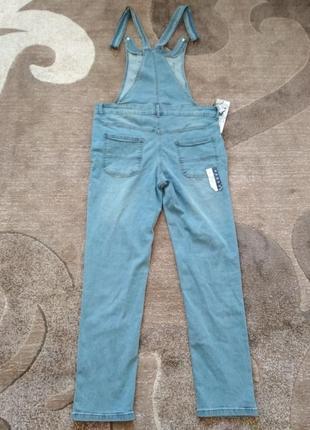 Крутезний джинсовий комбенизон track outfit5 фото